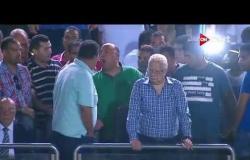 """أول رد فعل مرتضى منصور """"من المدرجات"""" بعد هزيمة الزمالك من نادي النجوم"""