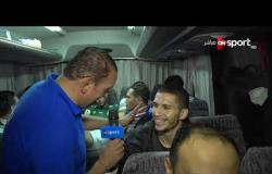 أون سبورت ترصد فرحة لاعبي المصري في الجزائر عقب التأهل لنصف نهائي الكونفدرالية