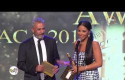 """جائزة السينما العربية لأفضل ممثلة دور أول عن فيلم فوتو كوبي """" شيرين رضا """" #ACA"""