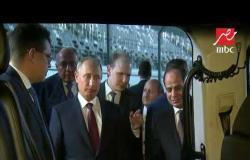 الرئيس السيسي يشاهد بصحبة بوتين أول سيارة صناعة روسية في خدمة الأسطول الرئاسي الروسي