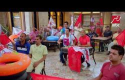 وليد سليمان وشيكابالا في تحدي كرة الماء