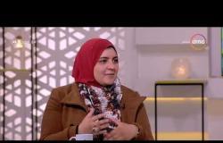 8 الصبح - رواد الأعمال ( ندى نجا - أحمد خالد ) - يقدمون شرح مشروع إدارة المخلفات الصناعية