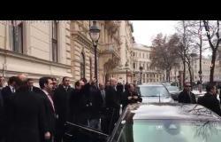 الرئيس السيسي يرد التحية للجالية المصرية في النمسا