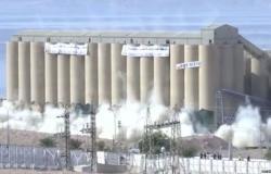 بالفيديو : تفجير صوامع العقبة بنجاح