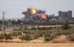 """انفجار في منبج السورية أثناء وجود قياديين من """"المجلس العسكري"""" مع وفد مجهول الهوية"""