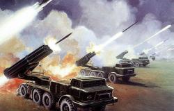"""شاهد... الجيش الكويتي يطلق دفعات من صواريخ """"سميرتش"""""""