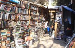 """أزبكية """"المعادي"""".. مكتبة ومعرض دائم """"للكتب المستعملة"""""""