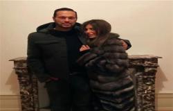 شاهد| أول صور لريهام حجاج مع طليق ياسمين عبد العزيز