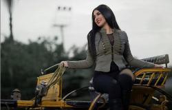 شاهد| جيهان خليل على «الحنطور» في أحدث جلسات تصويرها