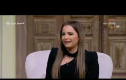 السفيرة عزيزة - تانيا قسيس : سعيدة بحب المصريين ليا