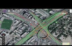 """8 الصبح - رصد الحالة المرورية بشوارع العاصمة من خلال """" Google Earth """""""