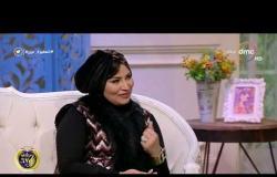 السفيرة عزيزة - سمر مبروك - توضح أهم الخامات التي تستخدمها في تصميم أزيائها