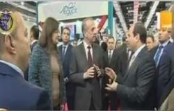 الرئيس السيسي يفتتح معرض القاهرة الدولى للكتاب فى يوبيله الذهبى