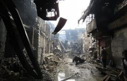 وفاة 7 أطفال نتيجة نشوب حريق في منطقة المناخلية وسط دمشق