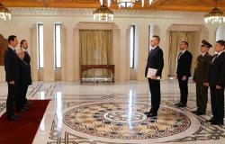 بالصور... الأسد يتقبل أوراق اعتماد سفيري روسيا الاتحادية وبيلاروس لدى سوريا