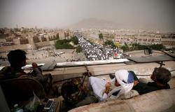 """""""أنصار الله"""" تعلن استعادة مواقع شمال غربي حجة"""