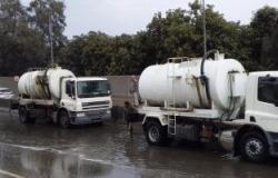 تعرف على تحذيرات المرور بعد إغلاق 6 طرق رئيسية بسبب السيول واﻷمطار