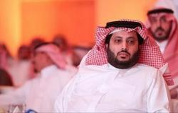 تركي آل الشيخ يصل نادي الزمالك.. واستقباله بالنشيد السعودي