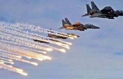 قصف جوي ومدفعي يستهدف مليشيات الحوثي في صعدة