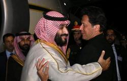 """""""مشهد مهيب""""... فيديو جديد لاستقبال المقاتلات الباكستانية ولي العهد السعودي في السماء"""