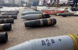بالفيديو... صواريخ إسرائيلية وأمريكية الصنع بين مخلفات الإرهابيين في ريف دمشق