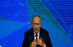 بوتين وماكرون يبحثان هاتفيا التطورات في سوريا