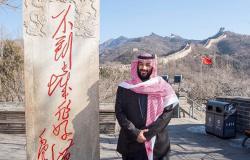 """السعوديون يحتفون بـ""""سور السعودية الجديد""""... ووزير عربي يدخل على الخط"""