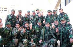 بالفيديو... تخريج دورة صاعقة لعدد من الضباط السوريين
