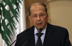 """""""ضرب بيده على الطاولة""""... الرئيس اللبناني يحسم الجدل بشأن العلاقات مع سوريا"""