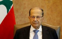 الرئيس اللبناني يعزي السيسي والمصريين بحادثة القطار