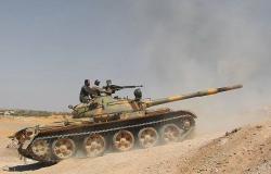 بعد قصف مصياف... الجيش السوري يرد على المسلحين في ريف حماة