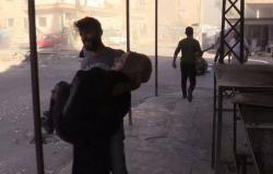 وفاة 4 مدنيين وإصابة 36 آخرين بانفجار لغم في منطقة الشولا بريف دير الزور السورية