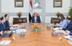 الرئيس السيسى يناقش مع الحكومة الموازنة العامة للعام المالى 2019/2020