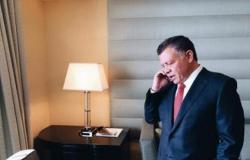 الملك يتلقى اتصالا هاتفيا من الرئيس الفلسطيني