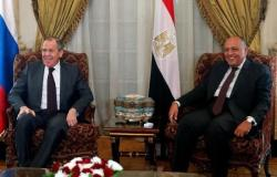 «شكري»: لا يمكن حل الأزمة الليبية بالوسائل العسكرية