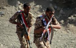 """""""ألوية العمالقة"""" تعلن مقتل 80 مسلحا من الحوثيين والسيطرة على مواقع شمال الضالع"""