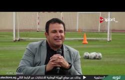 """""""أيمن منصور"""" يتحدث عن علاقته بالسوشيال ميديا أكثر لاعبين يتابعهم"""