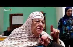 الاستفتاء|قعيدة تدلي بصوتها بمصر القديمة وتوجه رسالة للسيسي