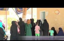 الأخبار -  توافد المواطنين على لجان الاقتراع في اليوم الثالث و الأخير للاستفتاء