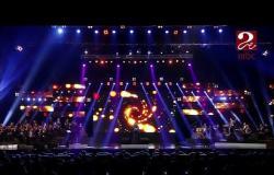 """ريهام عبدالحكيم تتألق بحفل MBC مصر في شرم الشيخ بمناسبة عيد تحرير سيناء وتغني """"مصريين"""""""