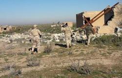 """القوات العراقية تكبد خلايا """"داعش"""" خسائر فادحة بالأرواح والكهوف"""