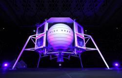 جيف بيزوس يكشف عن مركبة الهبوط على القمر