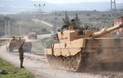 انسحاب عربات وعناصر مسلحة من النقطة التركية بريف حماة