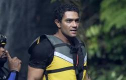 بدلة مشجرة.. آسر ياسين يكشف حقيقة فبركة مقلبه بـ حلقة رامز في الشلال