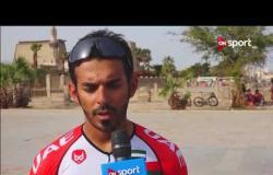 أحمد المنصوري. لاعب منتخب الإمارات للدراجات: نطمح للفوز بسباق مصر الدولي