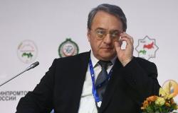 بوغدانوف يستقبل سفير الإمارات ويبحثان الوضع في منطقة الخليج