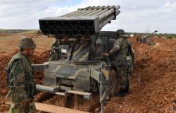 """بالفيديو... الراجمات السورية تدك تحصينات تنظيم """"حراس الدين"""" بريف حماة الشمالي"""