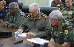 مصدر عسكري: القائد العام للجيش الليبي المشير خليفة حفتر سيتوجه بعد باريس إلى موسكو