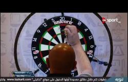 مباراة اللاعب الفلبيني آلان والمصري محمد غريب ضمن منافسات بطولة مصر الدولية للدراتس