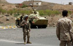 """الجيش اليمني يعلن استعادة جبال من قبضة """"أنصار الله"""" شمال الضالع وإسقاط طائرة"""